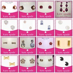 Take35-40% Off 19 Kate Spade ♠️ Earrings Available